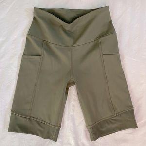 Diadora Limelight Biking Shorts in olive green